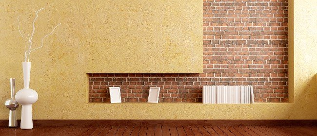 Trendy design in stucwerk